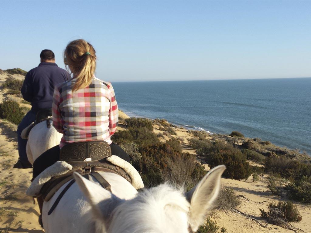 A caballo por Doñana