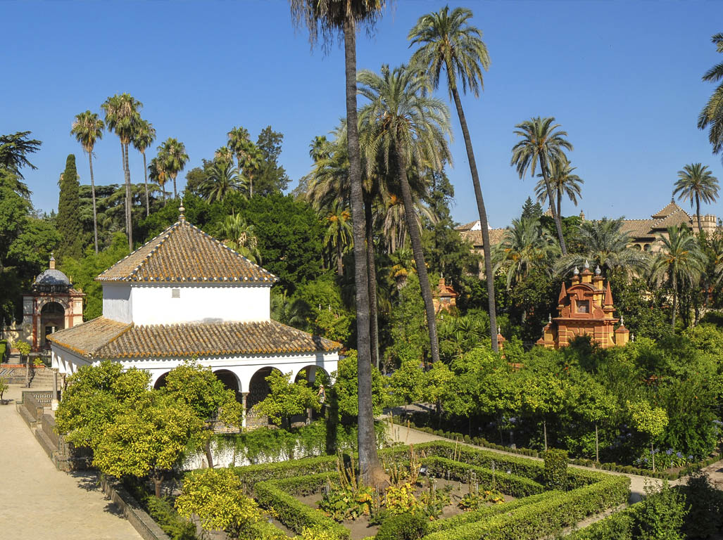 Jardines de los Reaesl Alcázares