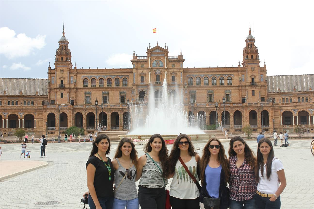 Plaza de España bike tour